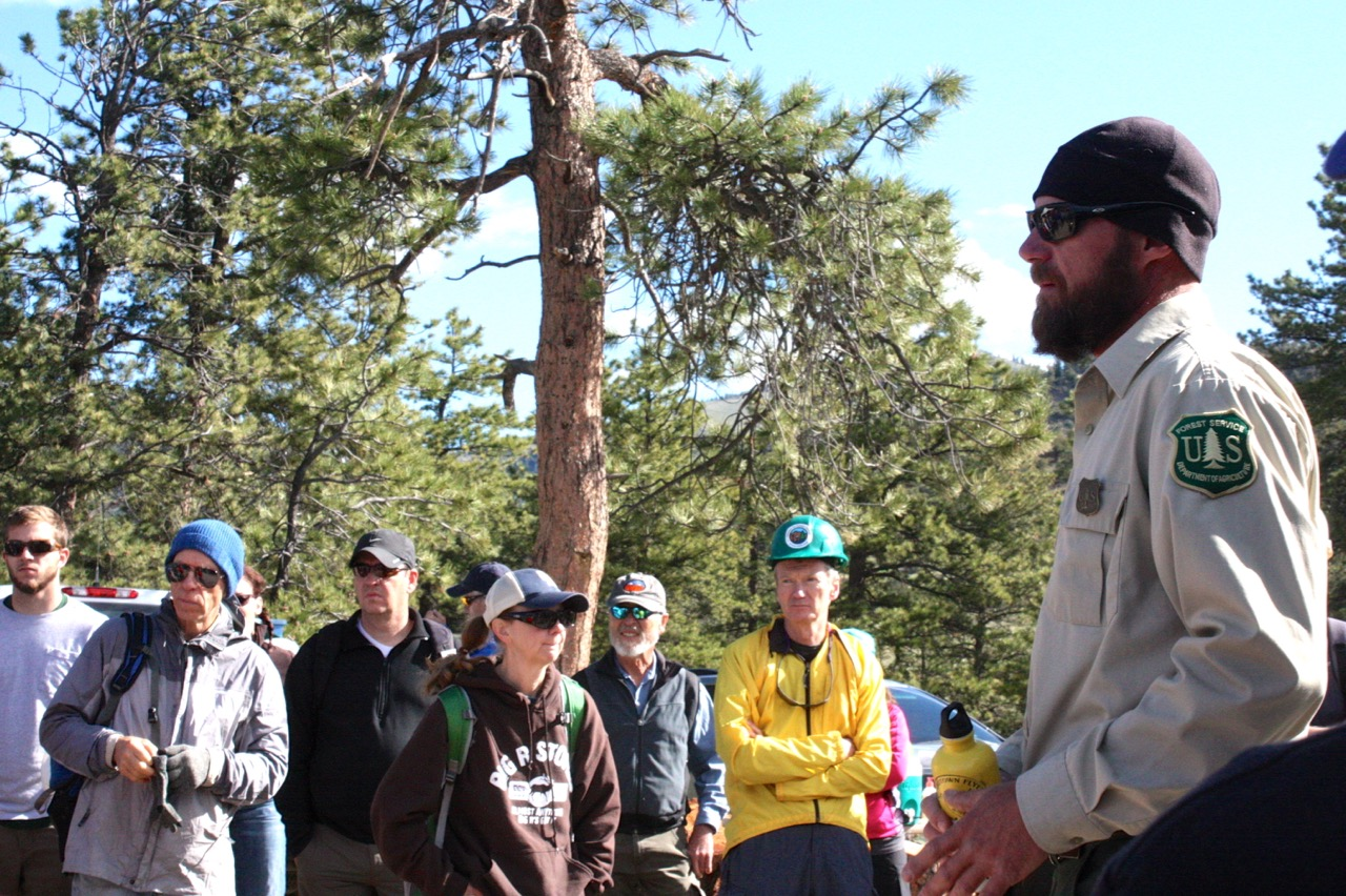 essay brett beasley even a stranger could see how special you brett beasley left preps the volunteers for outdoor colorado for the cottonwood trail build